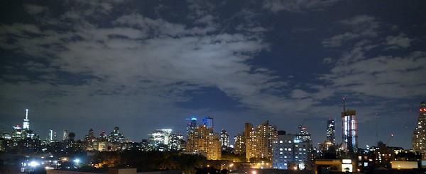 Manhattan Skyline from Union Street In Brooklyn